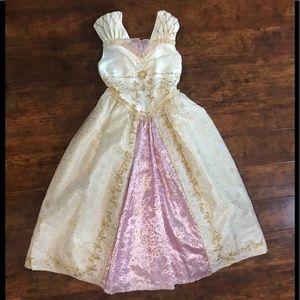 Disney Store Rapunzel White Wedding Costume Size 5 6 RARE